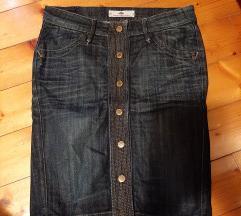 Fornarina jeans suknja