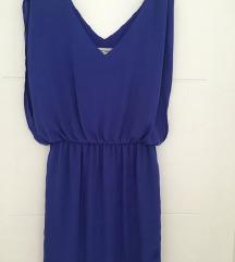 Naf naf mini plava haljina vel XS