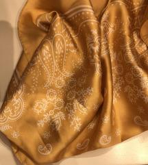 Zlatna svilena marama