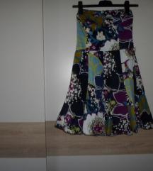 Benetton haljina bez naramenica vel.S