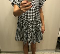 Karirana haljina XS-M