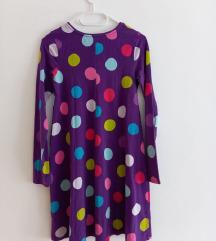 Polkadot haljina pamucna S