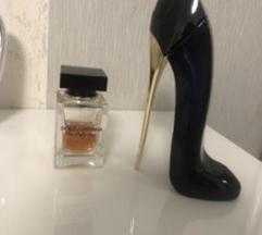 Dolce& gabbana i  Carolina Hererra parfemi
