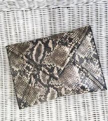 H&M zmija print kožna torba