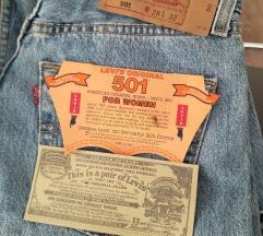 Levi's original 501 NOVO!!