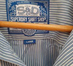 Superdry shirt L novo