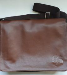 kožna torba za laptop smeđa NOVO