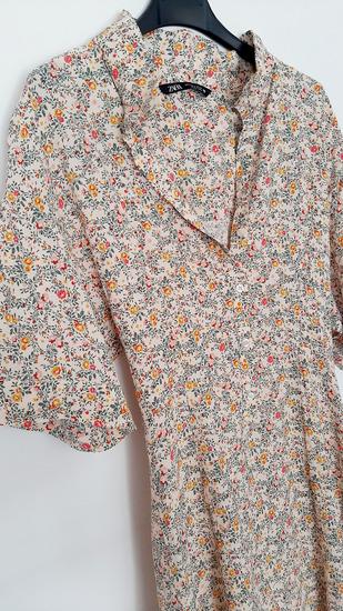 Zara maxi, cvijetna haljina