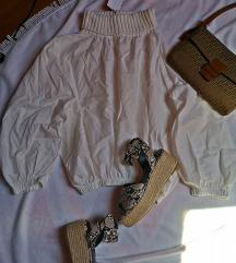 Majica sa visokim ovratnikom Zara