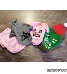 Lot odjece za malog psa