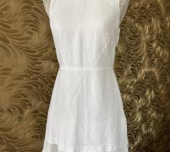 Bijela dvoslojna haljina A kroja