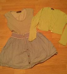Ljetna haljina + poklon bolero br.S