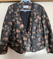 Ulla Popken plus size jakna od umjetne kože