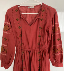 Zara etno haljina