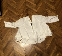Otkačena dizajnerska lanena jaknica Etiketa