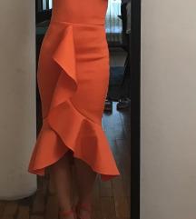 Midi svečana haljina