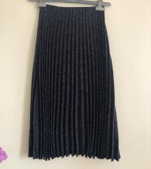Nova Zara plisirana suknja