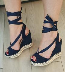 Sandale puna peta💙