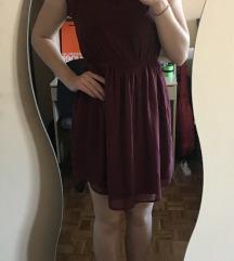 Bordo ljetna haljina sa PT