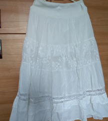Duga bijela suknja 38