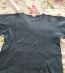 Plava pamučna majica