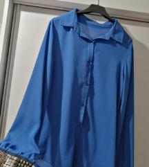 kraljevsko plava košulja sa zakovicama