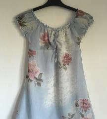 Cvjetna bluza tunika