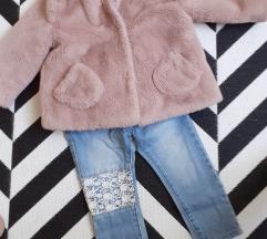 Zara bunda i traperice