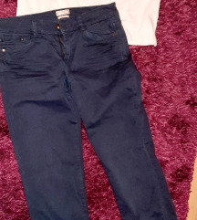 Esprit hlače i HM crop top