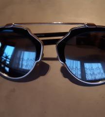 Zero UV sunčane naočale srebrne