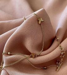 Pozlaćena ogrlica