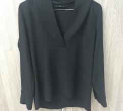 Zara crna majica dugih rukava, S/M, kao novo