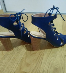 Plave sandale, gladijatorice