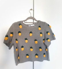ZARA pletena majica 🍍 + pt