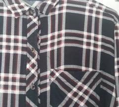Karirana bershka košuljica