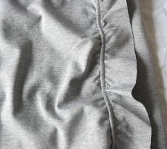 Siva suknja s volanima S ETIKETOM
