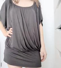 Siva haljina/tunika (novo)