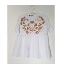 Zara peplum bijela bluza (novo)