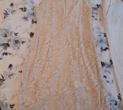 Zara čipkana haljina Novo