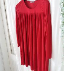 haljina crvena trudnicka