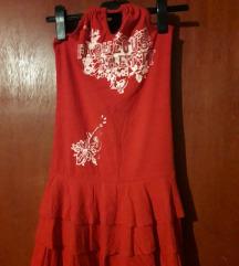 Ljetna haljina sa otvorenim leđima