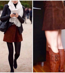 Kožna suknja/gamoš/real leather