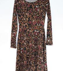Midi haljina s uzorkom