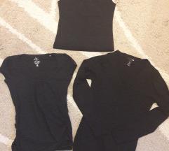 Lot crnih majica S