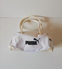 Bijela PUMA torbica 28 x 17 cm - ručke 20 cm