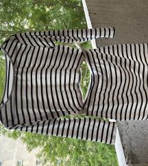 Komplet crop top i suknja