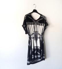 Kratka haljina sa uzorkom