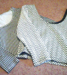 LOT 2 crop top majice fb sister,t.weijl