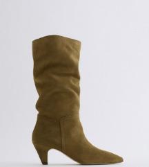 Čizme Zara 38 (koža)Nove
