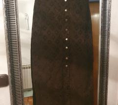 Dugačka suknja samt